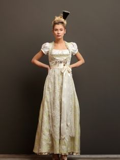 Wedding dress | Brautdirndel by Julia Trentini - Brautdirndl id 493