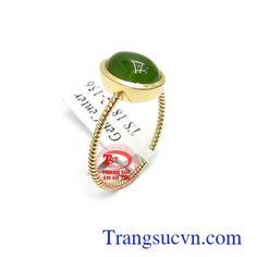 Nhẫn Nữ Vàng Jadeite - Nhẫn Nữ Đá Quý - TRANG SỨC VÀNG - Công Ty Trang Sức Em Và Tôi -Trangsucvn.com Vietnam Costume, Gemstone Rings, Gemstones, Jewelry, Jewlery, Gems, Jewerly, Schmuck, Jewels