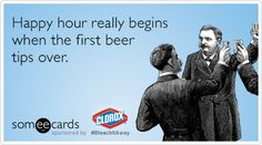 Free and Funny Clorox Bleach It Away Ecard: Happy hour really begins when the first beer tips over. Create and send your own custom Clorox Bleach It Away ecard. Sarcastic Quotes, Funny Quotes, Drinking Jokes, Silly Me, Alcohol Humor, Sarcasm Humor, I Love To Laugh, E Cards, Funny Cards