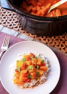 Recipe: Slow Cooker Vegan Pumpkin Curry — Weeknight Dinner Recipes from The Kitchn