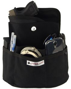 Packin' Neat Purse Organizer With Built In Concealed Carry Holster #packin-neat-holster #sticky-holsters #undertech-undercover