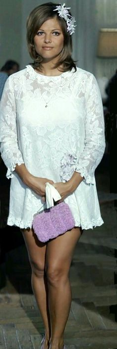 Claudia Cardinal #dress #young