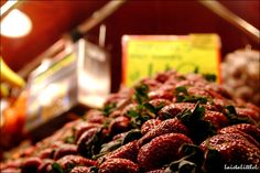 #Barcelona #Boqueria #Strawberry #Market #LaietaLittleL #Photography #Nikon