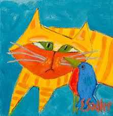 Susan Sadler paintIngs, - Google Search Cat 2, Wrapped Canvas, The Originals, Gallery, Painting, Art, Art Background, Roof Rack, Painting Art