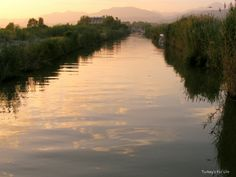 Çalış Canal At Sunset From The Water Taxi, #Fethiye, #Turkey