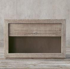 Reclaimed Russian Oak Platform Bedroom Collection | RH