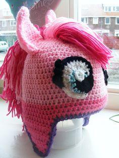 Pattern only - Pinky Pie pony Hat - DIY. €3.95, via Etsy.