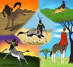 African centaurs