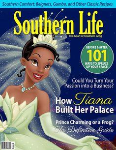 Capas de revistas com as Princesas Disney | Just Lia