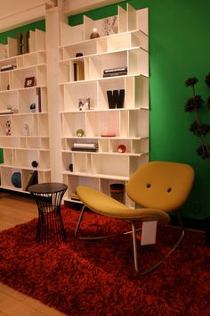 yellow on red on green #dansk #design - Loved by @denmarkhouse
