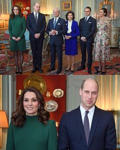 "11.4k Likes, 68 Comments - Catherine Duchess Of Cambridge (@katemidleton) on Instagram: ""The Duke & Duchess are currently enjoying a luncheon at the Royal Palace of Stockholm, hosted by…"""