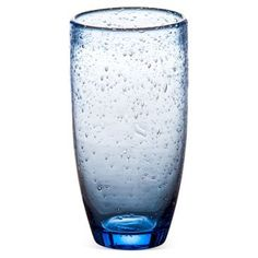 Check out this item at One Kings Lane! S/4 Bubble Tumblers, Light Blue
