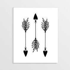 African art Wall art Tribal Arrows Native American by GoodPoison