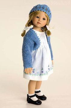 Brianna. Коллекционная виниловая кукла от Heidi Plusczok