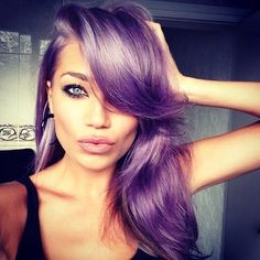 purple hair, I wish I could pull this off