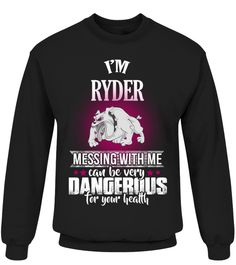 # Ryder .  My name's Ryder