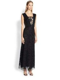 Adam Lippes Lace Gown
