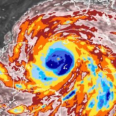 Image of Hurricane Gilbert Map Geo, Map Painting, Citizen, Maps, Weather, Technology, Travel, Viajes, Tecnologia