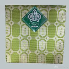 Vivi Green African Style Head Tie,ASO OKE Nigerian Gele Head Tie & Wraper…