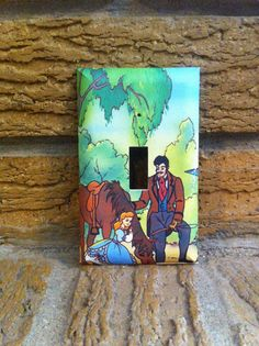 Young Cinderella Light Switch Cover