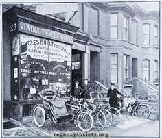 29 PRESTON ROAD Three photographs of the motor and cycle business of Frederick T. Turpin, who started here in 1906 and sold out in 1936 This is the oldest photograph of the three, dating from Abandoned Castles, Abandoned Mansions, Abandoned Houses, Abandoned Places, Brighton Sussex, Brighton England, Brighton And Hove, Old Pictures, Old Photos