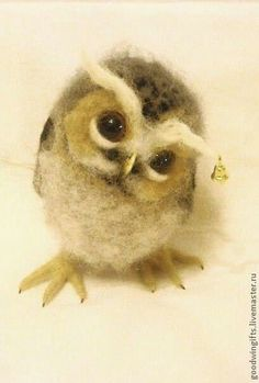 Felted Owl: