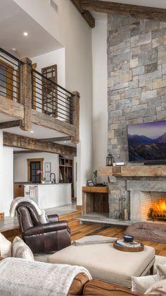 Barn House Plans, Dream House Plans, Dream Houses, Dream Home Design, Home Interior Design, Industrial Home Design, Rustic Home Design, Dream House Interior, Industrial House
