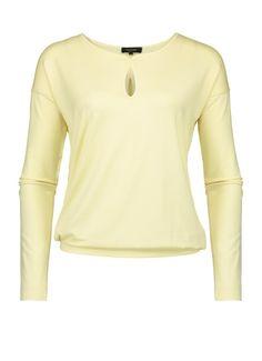 Soft yellow top | Claudia Sträter
