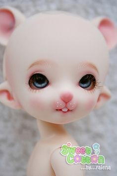 Face up : PukiFee Hamster by faie_na, via Flickr