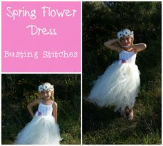 Fresh Spring Flower Dress Spring Crochet Pattern