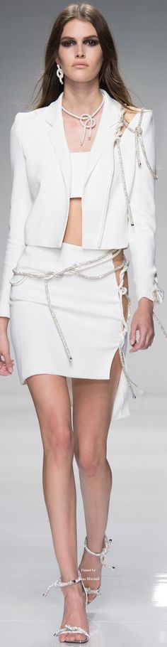 Atelier Versace Collection SPRING 2016 COUTURE women fashion outfit clothing style apparel @roressclothes closet ideas