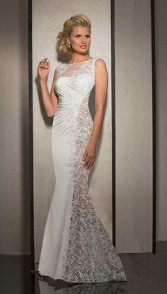 Semi Lace gown