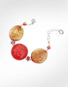 Antica Murrina Caprice - Murano Glass Bead Bracelet