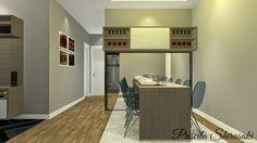 PS - Projetista de Interiores - Sala de apartamento