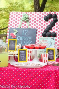 Mary Poppins Theme Party (continued) - Snacks - peanut butter & jelly sandwiches cut with a penguin sandwich cutter, penguin crackers (Walmart), umbrella cheese, popcorn, lemonade. Use some of the painted cocktail umbrellas to make the number 2.