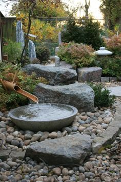 Traditional Japanese Tsukubai Arrangement Of Inspiring Small Japanese Garden Design Ideas