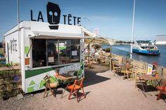 In tropische sferen aan het IJ bij La Tête - ETEN & DRINKEN - PAROOL