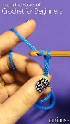 Do you want to learn to crochet? You're in the right place! This lesson covers the very first things beginners need to learn in order to crochet.