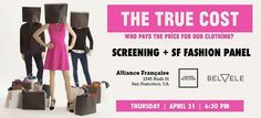 Join us on April 21st for a screening of The True Cost. Annaborgia's Founder will be among the speakers on the fashion panel after the movie. #FashionRevolutionDay