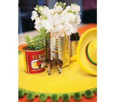 fiesta first birthday centerpiece