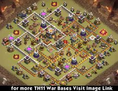 With this excellent town hall 11 war bases anti 2 stars