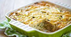 Cabbage, Zucchini and Cheese Casserole