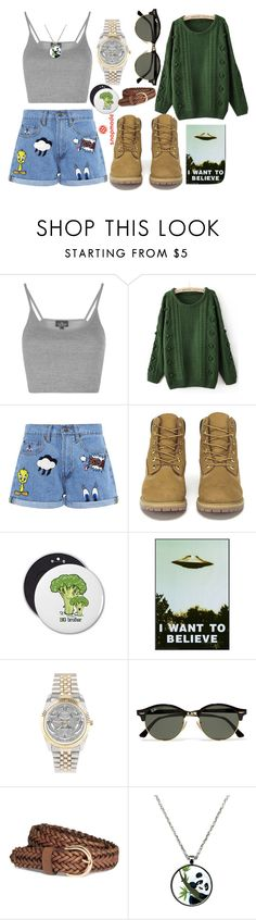 """""""SnapMade"""" by tanya-tihomirova-frikadelka on Polyvore featuring мода, Topshop, Paul & Joe Sister, Timberland, Ray-Ban, H&M и snapmade"""