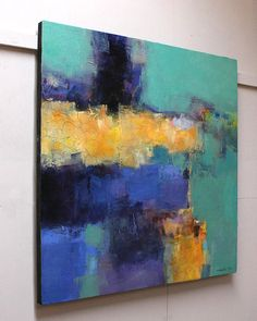 June 2013 1 Original Abstract Oil Painting by hiroshimatsumoto