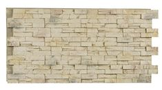 Texture Plus Panels - Stacked Stone Contemporary Select - Cream Frost - Interlock