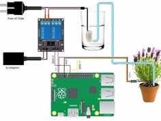 arduino getting started Diy Electronics, Electronics Projects, Smart Garden, Home And Garden, Projets Raspberry Pi, Plant Watering System, Arduino Cnc, Raspberry Pi Projects, Green Technology
