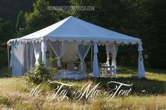 glamping with style, outdoor living, the 20X20 party tent