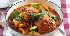 Curry Recept, Sugar And Spice, Tandoori Chicken, Chicken Wings, Spices, Food And Drink, Turkey, Meat, Dinner
