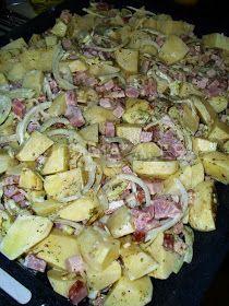 W mojej kuchni: Ziemniaczki zapiekane z mięsnymi kulkami wg Aleex Cannoli, Potato Salad, Cabbage, Potatoes, Vegetables, Ethnic Recipes, Food, Easy Meals, Cooking