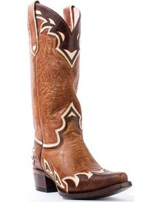 Junk Gypsy by Lane Women's Brown Junk Gypsy Back 40 Boots - Snip Toe
